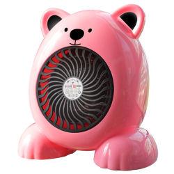 Aquecimento rápido Mini Aquecedores do ventilador elétrico portátil aquecedor de ambiente bonito quarto Aquecedor Eléctrico