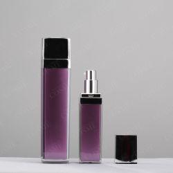 бутылка качества 15ml 30ml 40ml 50ml 80ml 120ml 130ml пластичная акриловая квадратная роскошная косметическая упаковывая