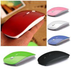 заводская цена Super Slim Оптическая USB беспроводные компьютерные мыши для игр