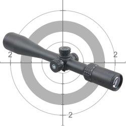 경계병 X 10-40X50 10yds에서 옆 초점을%s 가진 총격사건 25 미터를 위한 중심 점 범위 공기총 Pcp 공기총 Benchrest 표적