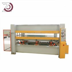 Laminering Hot Press Machine Voor Melamine Particle Board