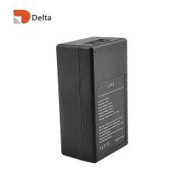 مصدر طاقة احتياطي لبطارية ليثيوم لكاميرا IP UPS السعر 18650 تيار مستمر عبر الإنترنت 5V2a 57.72h15600 مللي أمبير ساعة ميني UPS لـ CCTV