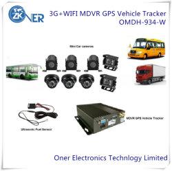 3G/4G/GPS/WiFi 4CH SSD карты памяти SD HDD Mobile DVR с по для записи видео в автомобиле автомобильной шины погрузчика