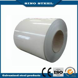 PPGI Couleur d'usine en acier revêtu de la bobine d'acier prépeint de bobine