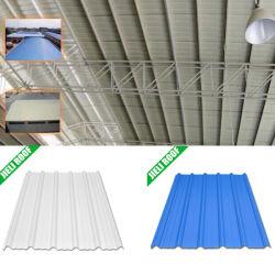 不変の波形PVCをプラスチック着色しなさい