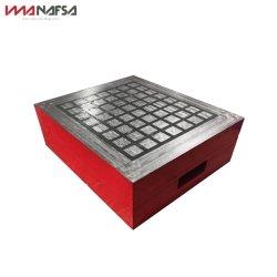 Taille personnalisée Milling Electric Chuck magnétique permanent pour machine CNC