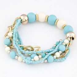 La catena Pendant a più elementi del metallo di VAGULA incanta il braccialetto