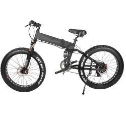 Bicystar suspension totale du cycle de montagne électrique pliant roues 26pouces Cadre en alliage de Montagne Vélo électrique pliant adulte