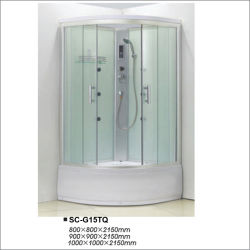 Stanza comandata da calcolatore del Governo dell'acquazzone di sauna del vapore di alta qualità