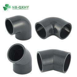 Pn16 Tubo de PVC la colocación del tubo de presión estándar DIN apenas codo de 45 grados