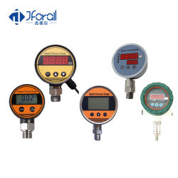 Jfak723デジタルMbarの干潮油圧のゲージスイッチアラーム