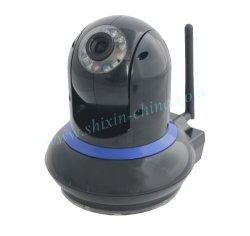 Le WiFi IR 2 voie audio unidirectionnelle Webcam caméra IP sans fil avec boîte de couleur pour iPhone et iPad Mini (IP-212)