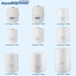 Banheira de venda de plástico e de água de aço do tanque de armazenamento para o sistema RO 3.2G 4.0G 6g 11g 20g
