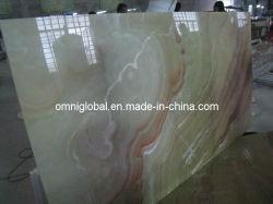 Dragão Vermelho Onyx Painel Composto de vidro em mármore