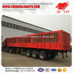 Kasten-Ladung-Tiertransport-halb LKW-Schlussteil für Afrika