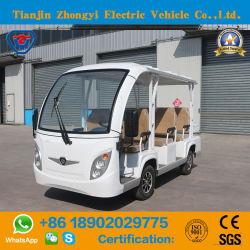 CE-Zugelassenes, Batteriebetriebenes Classic Shuttle Electric Sightseeing Touristenfahrzeug für Resort