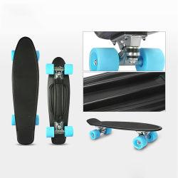 La conception personnalisée PU roues en aluminium Flash camions pont plastique skateboard