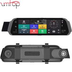 """4G Adas voiture caméra DVR 10""""Android flux multimédia FHD Rétroviseur 1080P WiFi GPS Dash Cam Registraire Video Recorder DVR"""