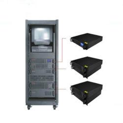 إمداد طاقة نظام إمداد الطاقة غير القابل للانقطاع (UPS) عبر الإنترنت بقدرة 1 كيلوفولت أمبير 2 كيلوفولت أمبير 3 كيلوفولت أمبير