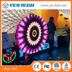 Mg13 P3.9 (セクターの形) LEDの創造的な円形スクリーン