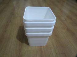 5L Square unhas de Embalagens Balde de plástico