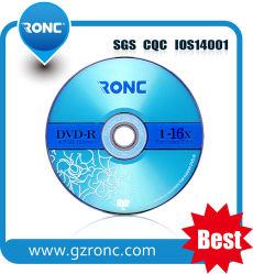 Высокая Compatiable 4,7 ГБ 16X чистые диски DVD-R