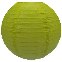 Gradiente amarelo forma redonda com lanternas Lampions decorativas