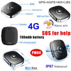 Inseguitore Pendant molto piccolo impermeabile di 2020 un nuovo 4G Lte GPS con la fessura per carta di SIM per i capretti/più vecchi animali domestici