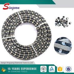 Diamant-Draht-Ausschnitt-Seil sah für Granit
