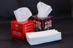De maagdelijke Handdoek van het Papieren zakdoekje van het Vakje van de Pulp Gezichts