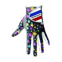 Farbige lederne Golf-Handschuh-nach Maß Golf-Handschuh-Golf-Handschuh-Damen