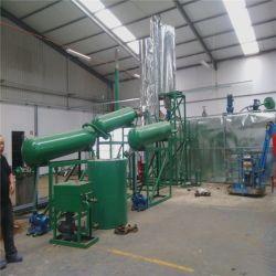 Завод по утилизации масла черного цвета для дизельного топлива