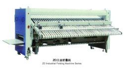 Bestes Preis-heißes automatisches Blatt-faltende Maschinen-Wäscherei-Faltblatt-faltende Blatt-Maschine für Hotel-das Leinenfertigstellungs-Wäscherei Flatwork Ironer Bedsheet-faltende Bügeln