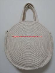 白いカラー価格のハンドメイドの女性袋