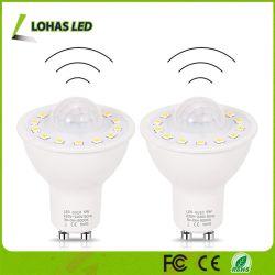 Датчик движения автоматического включения и выключения светодиодная лампа 5 Вт (50 Вт) с цоколем GU10 Smart датчика для акцентного освещения