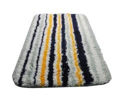 Microfibra Jacquard Bathmat Stripe