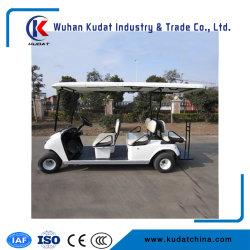 Ce 6 Seaters 3Квт для игры в гольф с пневматической тележки с электроприводом крыши