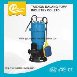 Wqd-0.756-16 y centrífuga sumergible de aguas residuales bomba de agua