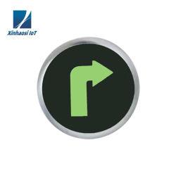 Señal de salida de emergencia automáticas de aluminio lámparas
