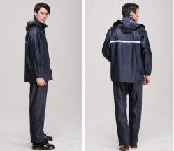높은 시정 폴리에스테 비옷 100%Waterproof Breathable 비옷