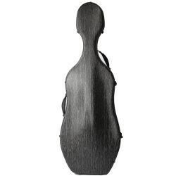 Хорошее качество черный цвет из стекловолокна виолончель жесткий чехол