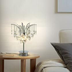 El Lujo moderno de cristal decorativas lámparas de escritorio