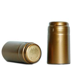 Пвх термоусадочных втулок бутылка воды с вином сжать крышку