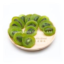 Сладкий вкусные закуски сушеные зеленый осушенного плоды киви срез
