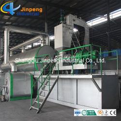Energieen-vollautomatisches verwendetes Gummireifen-Pyrolyse-Pflanzenabfall-Gummireifen-Öl, das Maschine aufbereitet