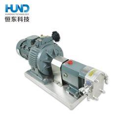 En acier inoxydable de la pompe à lobes rotatifs de pignon de pompe du rotor pour les produits pharmaceutiques