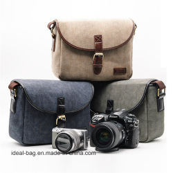 Unisex de alta calidad cámara réflex digital Canvas Bag Cheap Wholesale