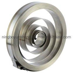 Molla ritrattabile della bobina dell'acciaio inossidabile dell'OEM del fornitore della Cina del tubo flessibile di potere automatico piano della bobina
