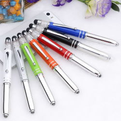 Canhão de alumínio LED Pen