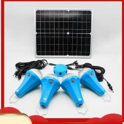 Luz LED Solar Sistema Solar el ahorro de energía portátil 25W de luz Solar Power System Global Sunrise Sre-98G-4